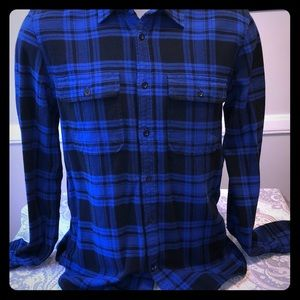 Men's Gap Size Medium Long Sleeve Flannel